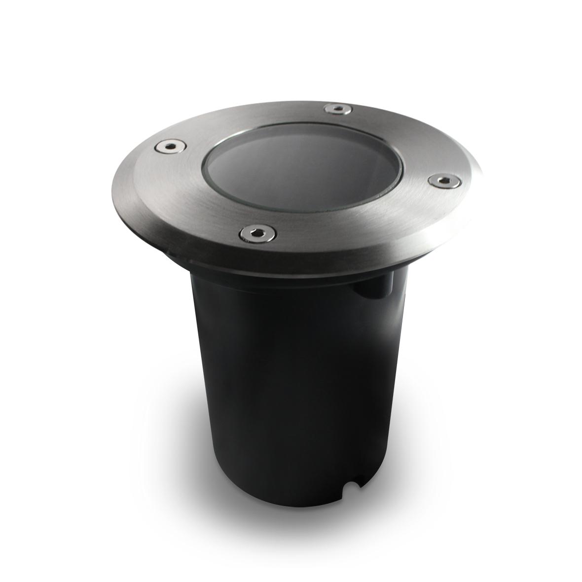 led bodenleuchte bodeneinbaustrahler bodenlampe gartenstrahler ip67 gu10 230v. Black Bedroom Furniture Sets. Home Design Ideas