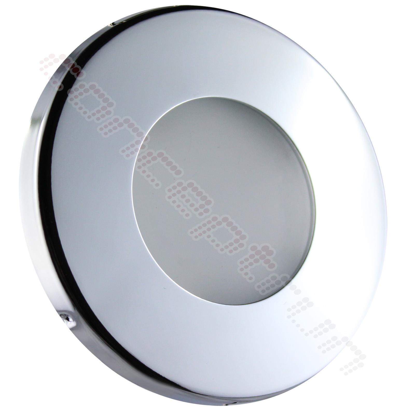 Leuchte ?ber Dusche : Einbaustrahler Nassraum Bad Dusche (IP44-IP65) SET 12V oder 230V