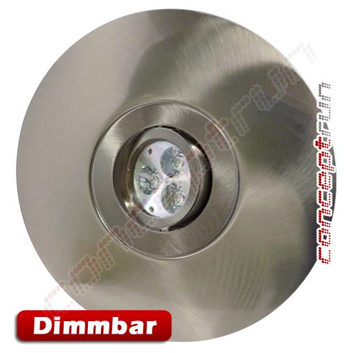 led einbaustrahler einbauleuchte spot aluminium disc dimmbar lochma 68mm 180mm ebay. Black Bedroom Furniture Sets. Home Design Ideas