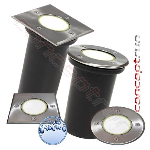 led gartenstrahler bodenleuchte bodeneinbaustrahler ip67 230v durchschleifbar ebay. Black Bedroom Furniture Sets. Home Design Ideas