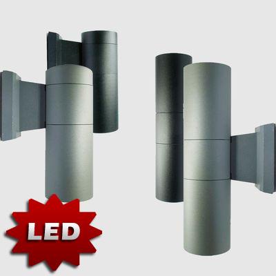led aluminium au enlampe au enleuchte wandlampe. Black Bedroom Furniture Sets. Home Design Ideas